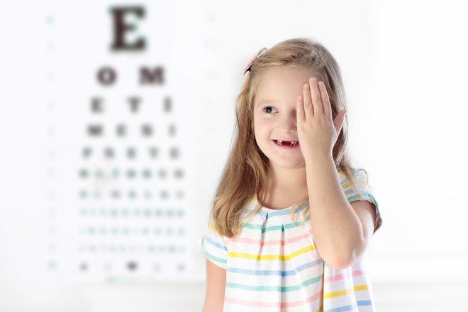 controllo visivo per bambini