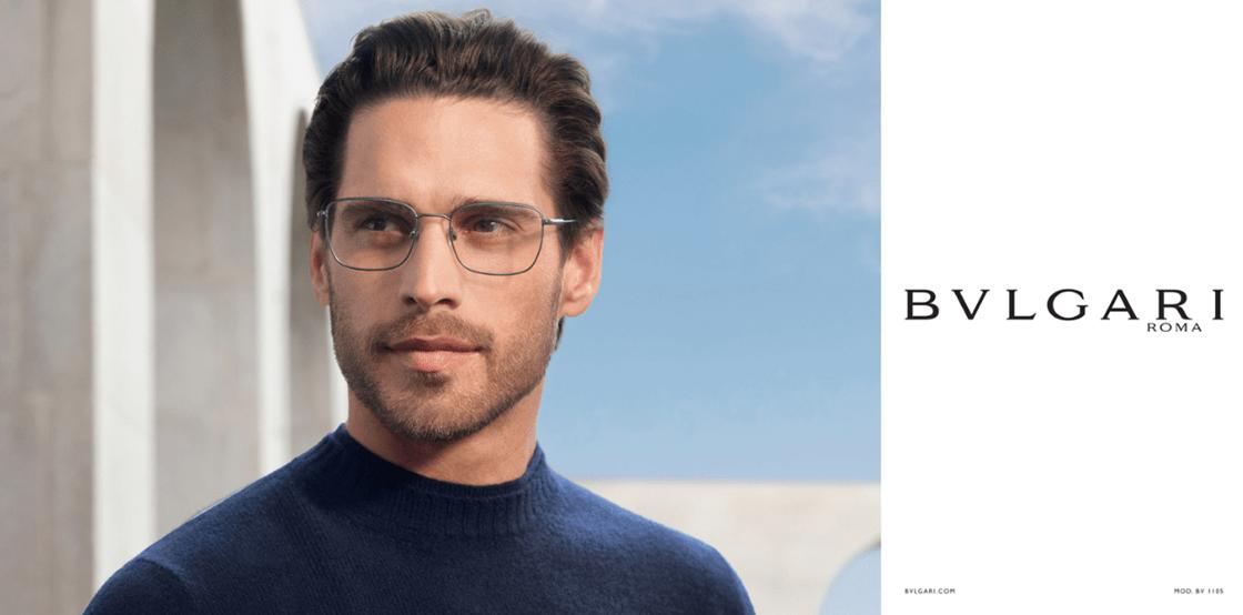 occhiali da vista uomo bulagari